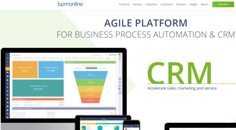 BPM+CRM Software